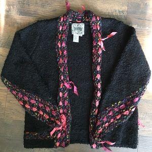 Anthropologie Curio Cardigan Sweater Size M